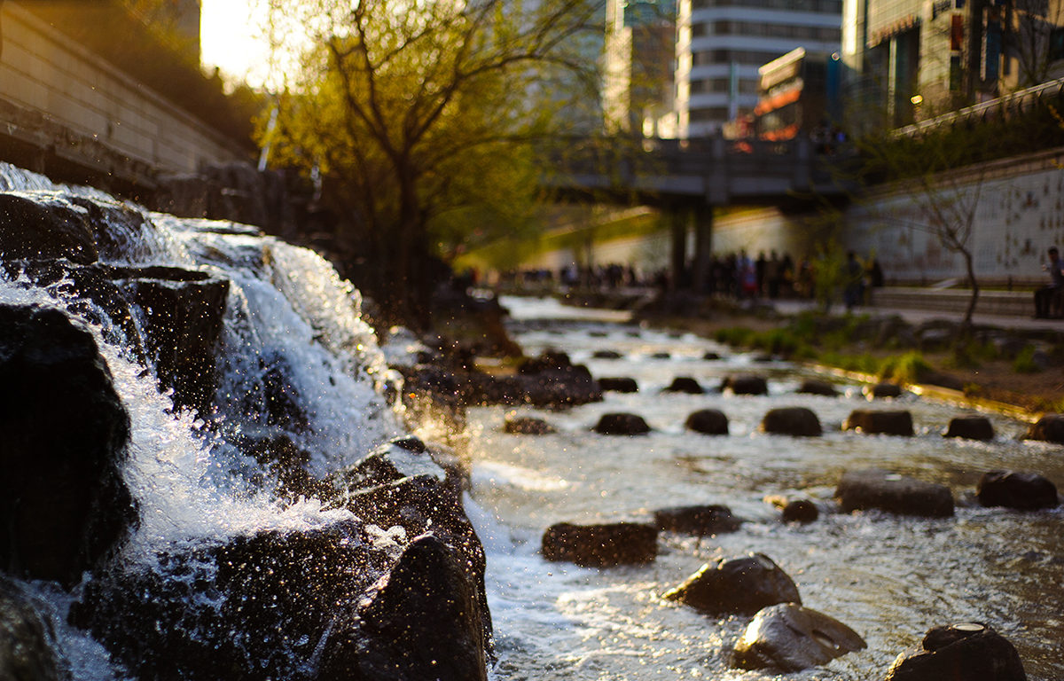 Chongae Cheonggye Canal Source Point Mikyoung Kim