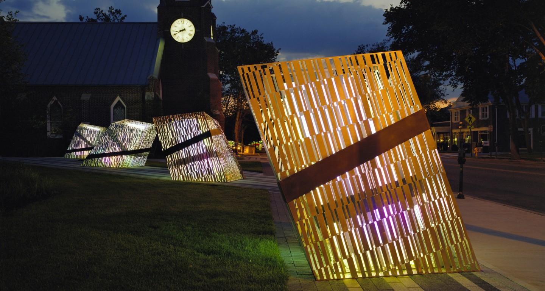 Barcode Luminescence Mikyoung Kim Design Landscape