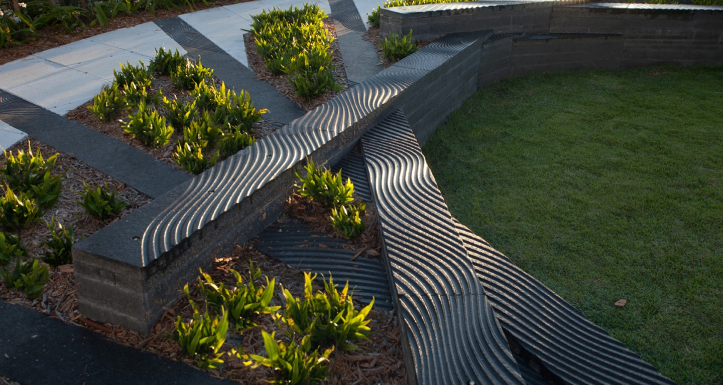 Ripple Garden | Mikyoung Kim Design   Landscape Architecture, Urban  Planning, Site Art