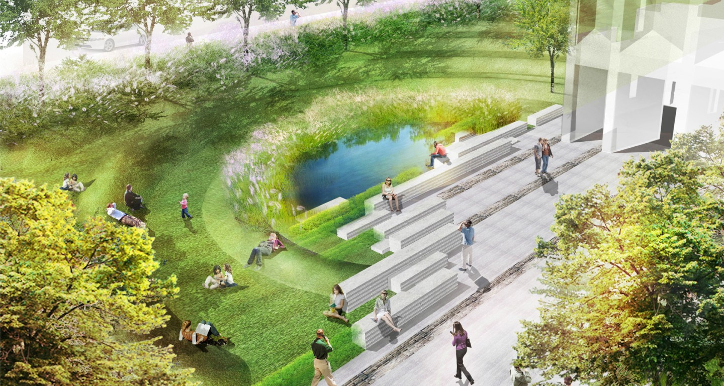 Mikyoung kim design university of chicago lab for School garden designs