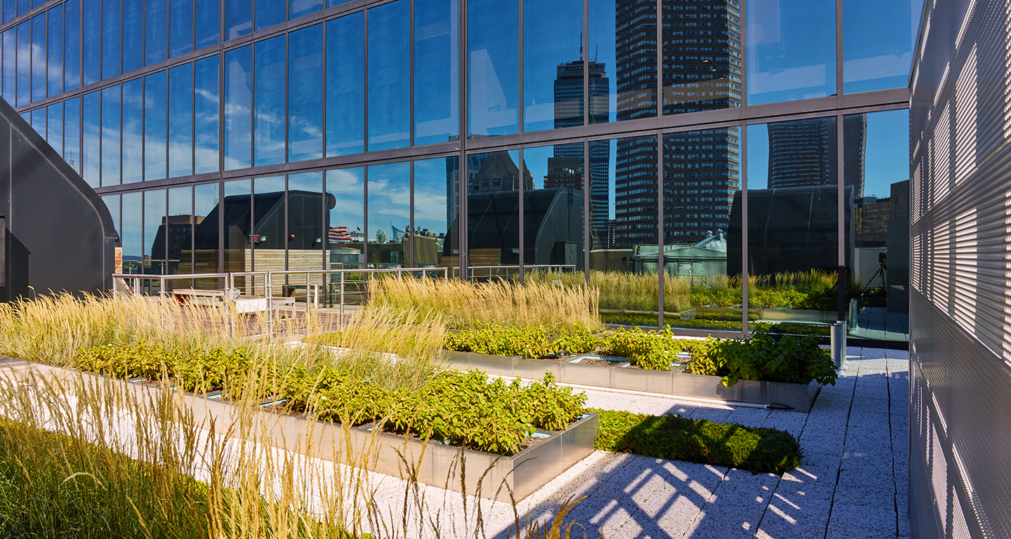 Hancock Tower Roof Garden Mikyoung Kim Design