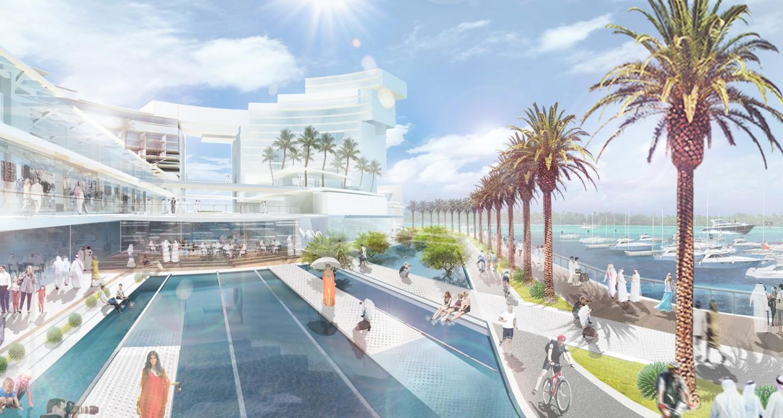 Al Bateen W Hotel And Wharf Development Mikyoung Kim