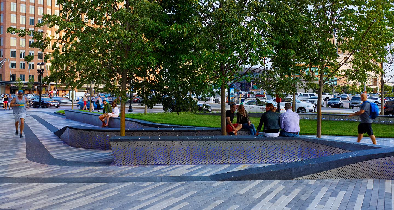 Pier 4 Waterfront Plaza Mikyoung Kim Design Landscape
