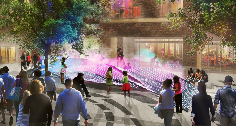 west plaza exhale mikyoung kim design landscape