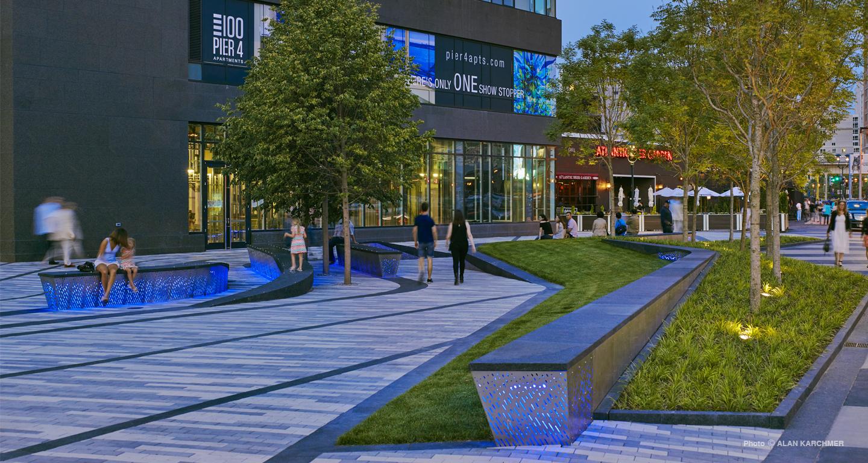 Pier 4 Plaza Mikyoung Kim Design Landscape