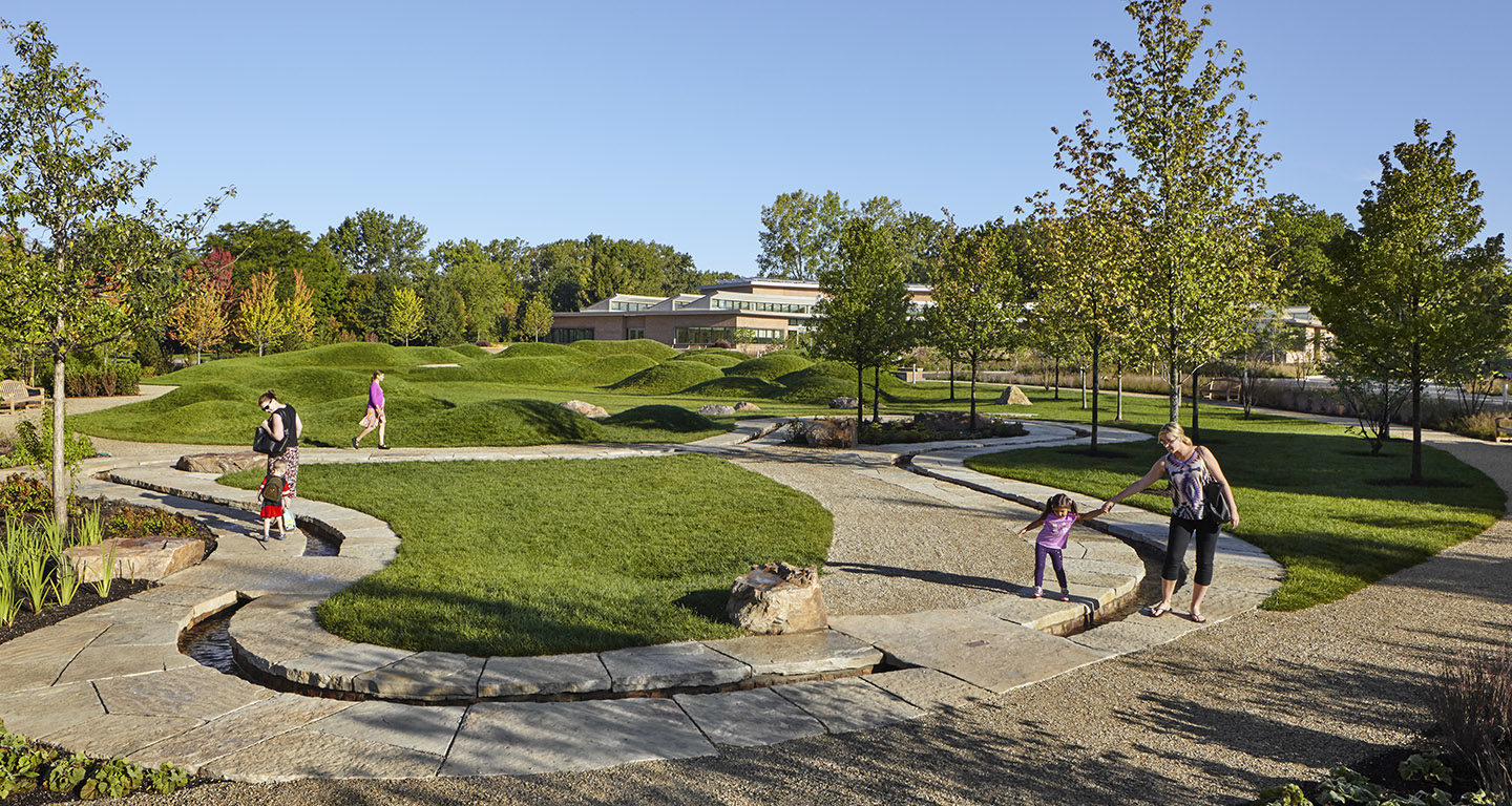 Chicago Botanic Garden Learning Campus   Mikyoung Kim ...