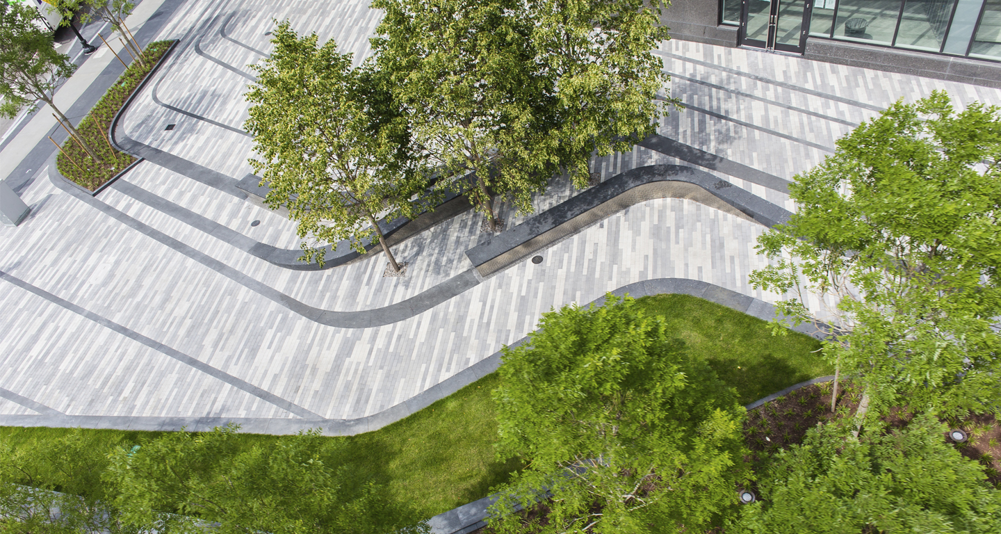 Pier 4 plaza mikyoung kim design landscape for Urban landscape design