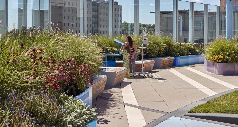 Boston Children's Hospital Rooftop Healing Garden ...