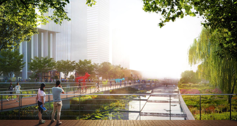 Qianhai Riverfront Park Competition Mikyoung Kim Design