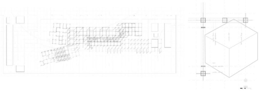 Site plan and modular design concept